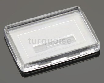 Premium Quality Clear Acrylic Blank Photo Fridge Magnets 50 x 35 mm