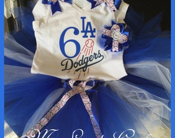 Dodgers Tutu Outfit