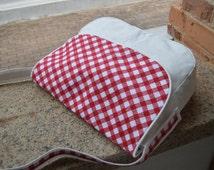 Messenger Bag / Diaper Bag with six pockets / Crossbody bag / Simple bag for her / Shopping Bag / Everyday & casual handbag / Free delivery