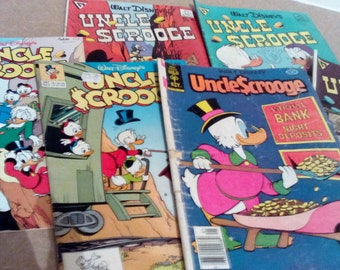 Uncle Scooge Comic Book Bundle