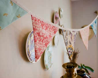 Custom Made Pennant Banner, Bunting