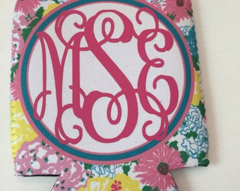 Lilly Pulitzer Inspired Beverage Cooler