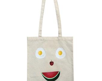 Happy Shopper Tote Bag