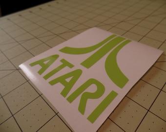 ATARI Logo Retro Decal Sticker