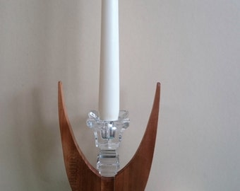 """The enlightened one"" guardian angel candle holder candlestick night man"