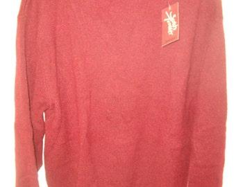 New Vintage Jantzen Men's Crew Neck Sweater Sz L