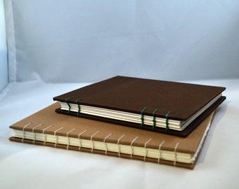 "Handmade Sketchbook- Autumn- 5.25""x6"""