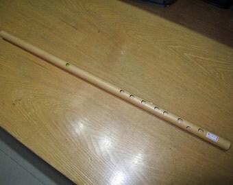 Six holes bamboo flute