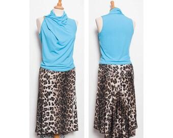 Tango rock - fish tail skirt & waterfall top in variations
