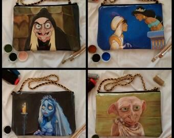 Custom handpainted bag - you choose the drawing!
