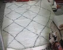 Beni Ourain handmade Moroccan rug