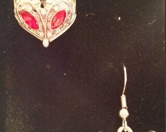 Fox Dangle Drop Earrings