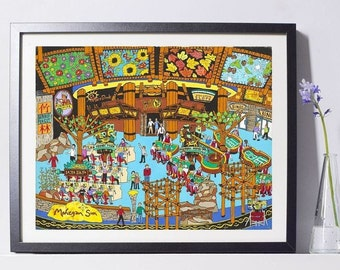 Casino Gambling Art Print