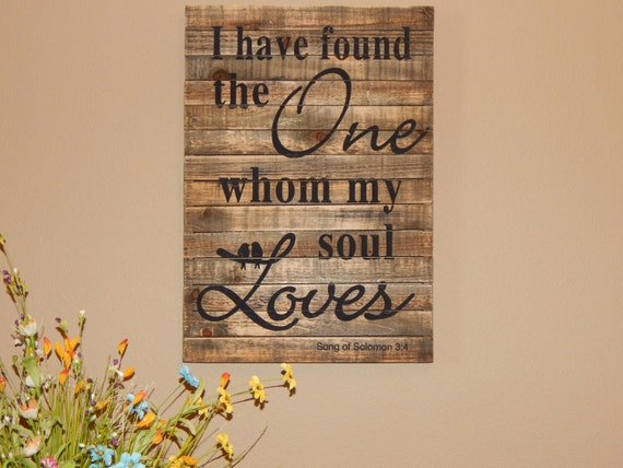 Rustic Sign Love Quotes Wood Sign Large Board Sign Barn