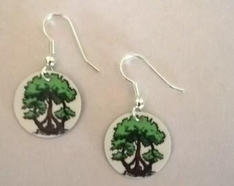 LFF Peace Tree Earrings