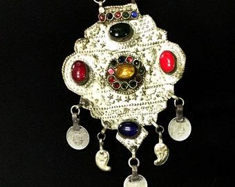 Tribal Jewel Necklace