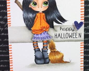 Handmade Cards - Happy Halloween