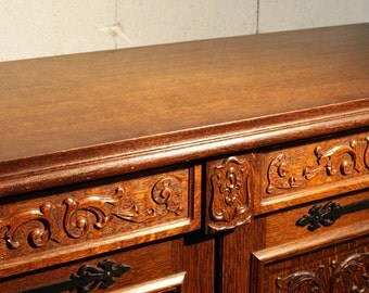 Stunning traditional French Buffet Cabinet for Dining Room or Living Room