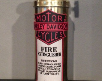 1940-50's Old-School HD Fire Extinguisher