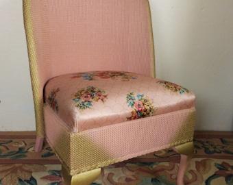 Loom Bedroom Chair/Vintage Loom chair/Original Upholstery