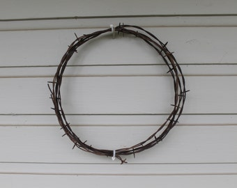VERY RARE Vintage Barbed Wire patented by Michael Kelly in 1868