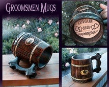 Personalized Beer Mug/Medieval Mug/Personalized Beer Gifts/Gift for guys/Groomsmen Mugs/Husband Boyfriend/Personalized  Mugs/Groomsmen gifts