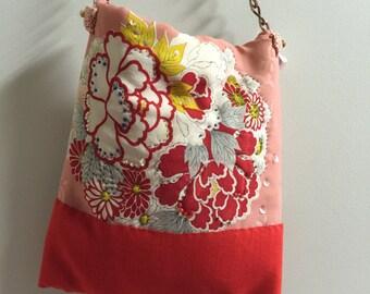 kimono evening bag