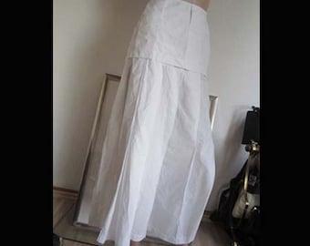 Vintage 80s high waist Maxi skirt tandem