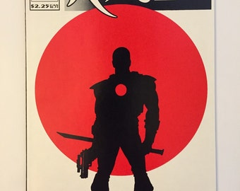 Rai #0! 1st full Bloodshot apprarance! Valiant 1992