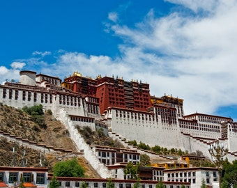 Potala Palace Tibet Poster