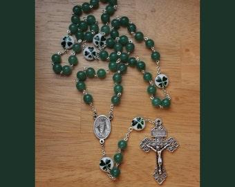 St. Patrick Shamrock Rosary