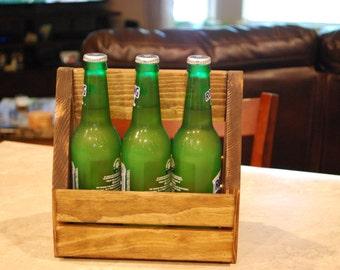 Wood Caddy, planter, organizer, card holder, centerpiece