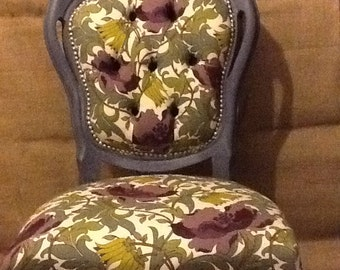 Italian/French occasional hall bedroom boudoir chair