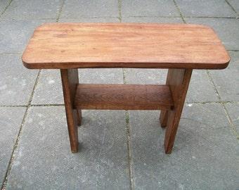 Handmade Contemporary Oak Side Table