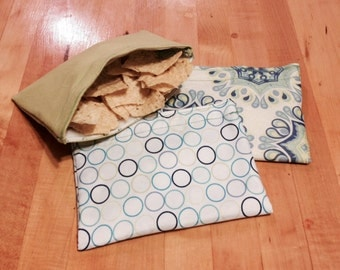 Small Reusable Snack Bags