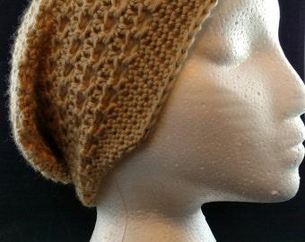 Crochet Slouchy Hat, Crochet Women's Slouchy Hat, Slouchy Beanie, Women's Crochet Beanie