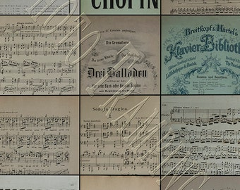 Antique Digital Sheet Music