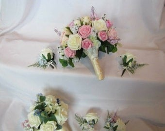 Bridal Party Flower Package bridal bouquet package