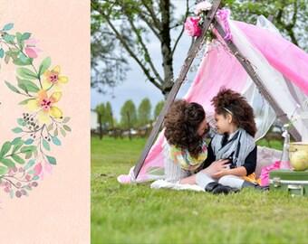 Mother's Day Facebook timeline banner, Photoshop files