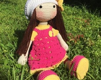 Amigurumi Doll, Crochet Doll, Stuffed Doll, Handmade Doll