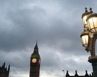 Fotografia Big Ben, fotografia Londra, fotografia di viaggio, fotografia Fine Art