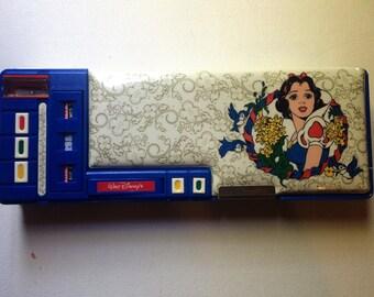 Vintage 80's Snow White Pencil Case