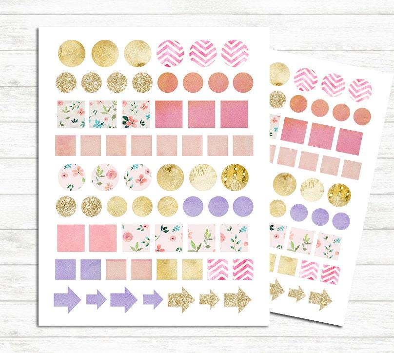 Pegatinas para imprimir planificador planificador por for Pegatinas decorativas