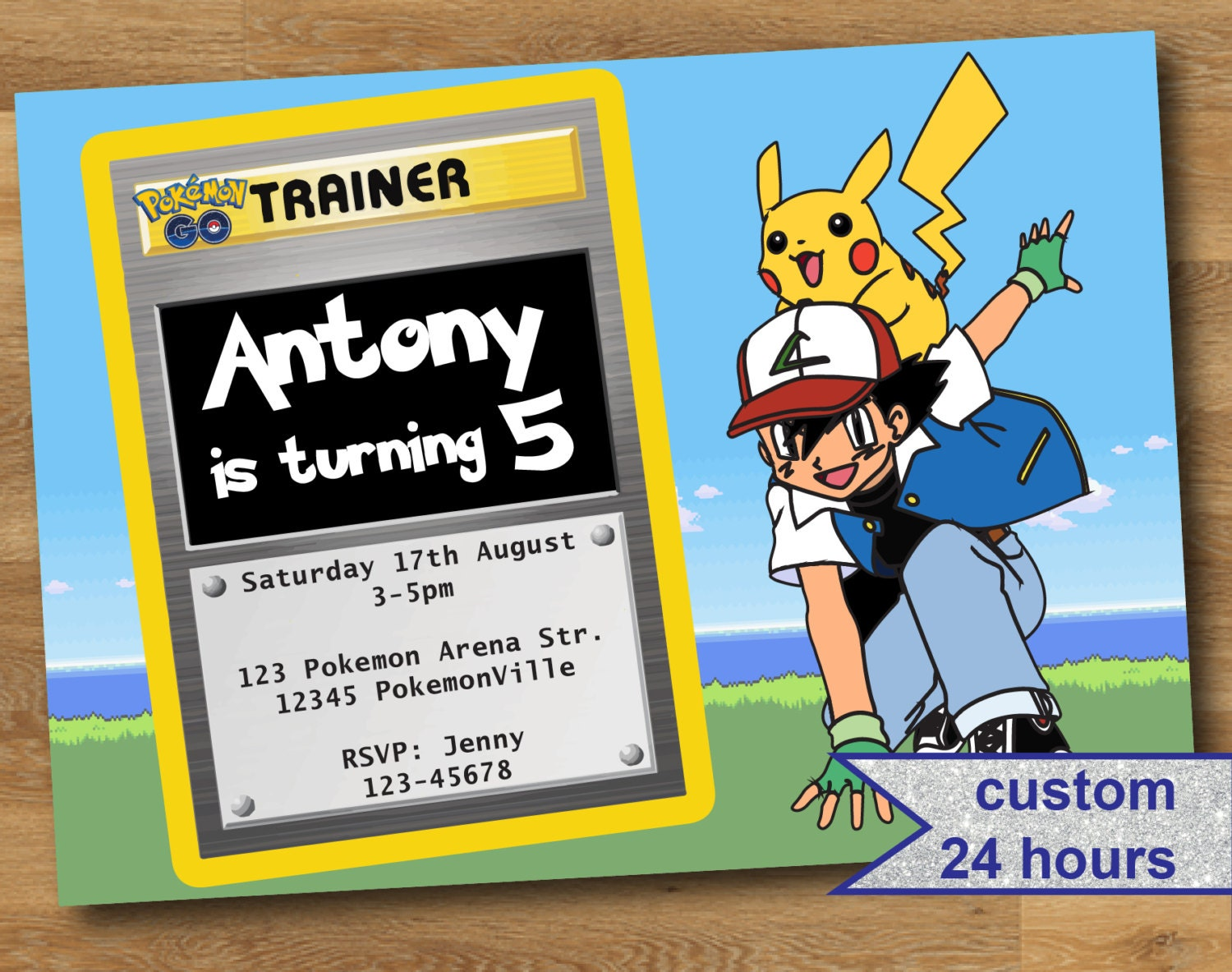 Image result for pokemon go themed party invites