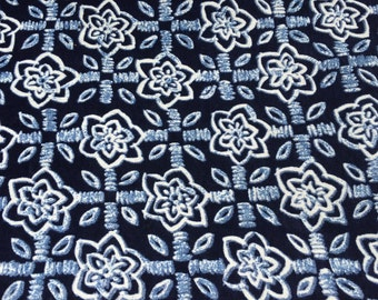 Blues In Bloom ( 2yds available - for sale by the yard)