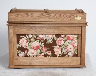 Handmade oak chest