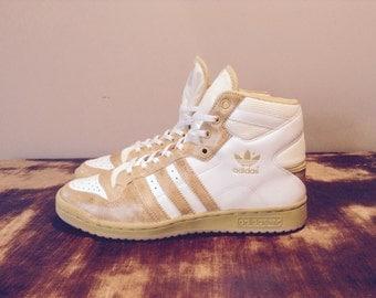 adidas Decade Gold x White 046127 Top ten/Hi top / pharrell