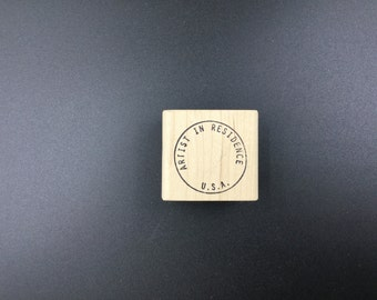 A Stamp in the Hand Rubber Stamp