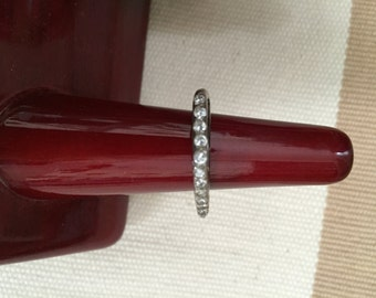 3D Crystal Vintage Ring