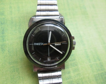 Watch RAKETA Russian Soviet Vintage watch RARE